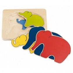 Goki Elefant puslespil