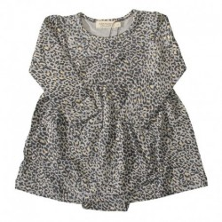 Gold Leo Baby kjole - Ramona Gold Leopard 181-153-26 fra MarMar