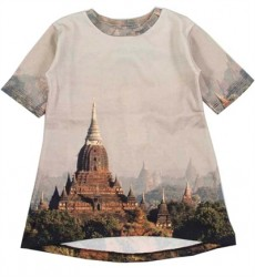 Grå Sweat Kjole Med Asian Palads Fra Popupshop