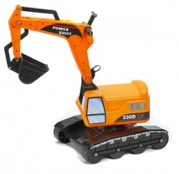 Gravemaskine Excavator orange