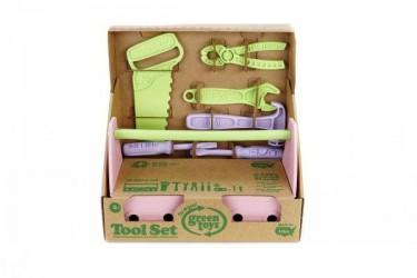 Green Toys Værktøj Sæt - Pink Værktøj