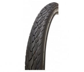 GRL dæk - 5101 med 5 mm indlæg - Str. 20x1,75 (47-406) - Sort/refleks