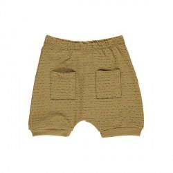 GRO Ochre Green Baby Shorts