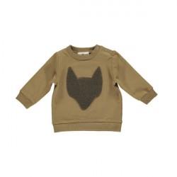 GRO Pine Brown Baby Sweatshirt
