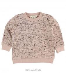 Gro Sweatshirt - Venus - Lys Rosa m. Prikker