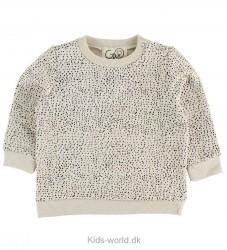 Gro Sweatshirt - Venus - Offwhite m. Prikker