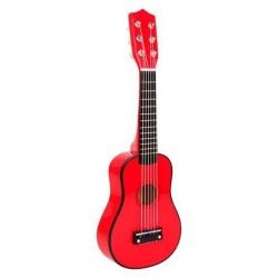 Guitar til børn Rød 53 cm fra