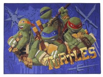 Gulvtæppe Turtles Family