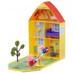 Gurli Gris dukkehus og have