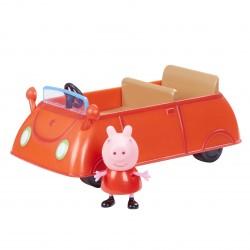 Gurli Gris - rød bil og figur