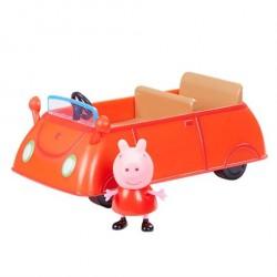 Gurli Gris Rød Bil