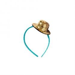 Hårbøjle med Paillet Hat fra Rice - Flere farvemuligheder