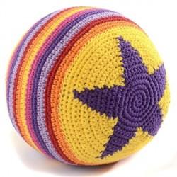 Hæklet bold fra Smallstuff - Stor - Pige