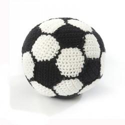 Hæklet fodbold fra Smallstuff - Lille
