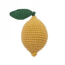 Hæklet rangle fra Sebra, citron