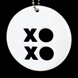 Hængerefleks fra Softreflector - Exclusive Cut Collection - XO