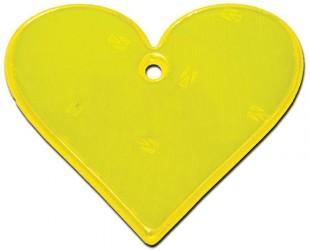 Hængerefleks fra Softreflector - Yellow Heart