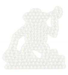 Hama Midi Perleplade - Abe