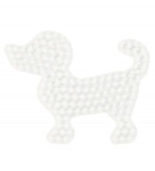 Hama Midi Perleplade - Lille Hund