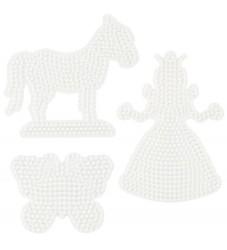 Hama Midi Perleplader - 3-pak - Prinsesse, Hest & Sommerfugl