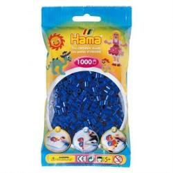 Hama Midi Perler 1000 stk. Blå 207-08