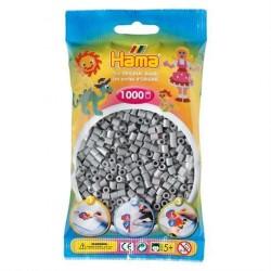 Hama Midi Perler 1000 stk. Grå 207-17