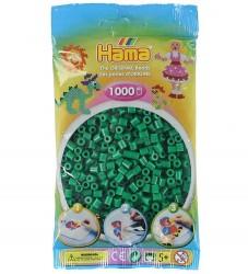 Hama Midi Perler - 1000 stk - Grøn