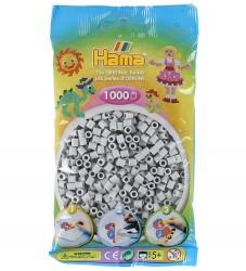 Hama Midi Perler - 1000 stk - Lysegrå