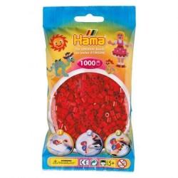 Hama Midi Perler 1000 stk. Mørke Rød 207-22