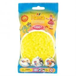 Hama Midi Perler 1000 stk. Neon Gul 207-34