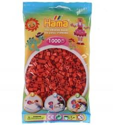 Hama Midi Perler - 1000 stk - Rød