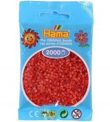 Hama Mini Perler - 2000 stk - Rød