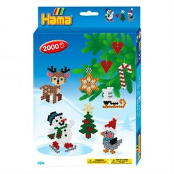 Hama Perler Midi Julepynt