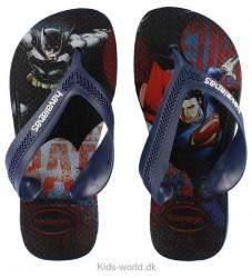 Havaianas Klipklapper - Max Herois - Navy m. Batman/Superman