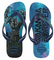 Havaianas Klipklapper - Top Marvel - Marine Blue m. Superhelt
