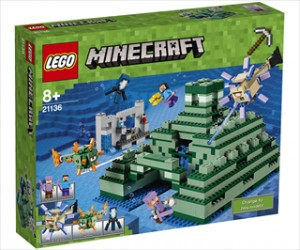 Havmonumentet - 21136 - LEGO Minecraft