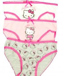 HELLO KITTY, 3 pak underbukser til piger