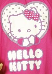 HELLO KITTY, t-shirt/tunika med kort ærme, pink