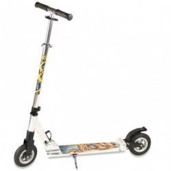 Hepros løbehjul med lufthjul Orange by Hepros
