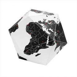 Here Globe - Globus med tegnestifter Medium