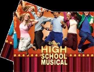 High School Musical I - Plastikdug 120 x 180 cm