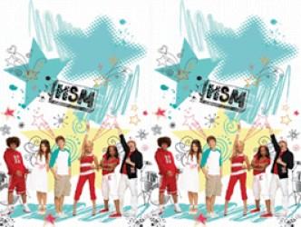High School Musical II - Plastikdug 120 x 180 cm
