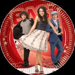 High School Musical III paptallerken 23 cm - 10 stk.