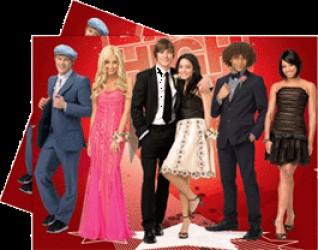 High School Musical III - Plastikdug 120 x 180 cm