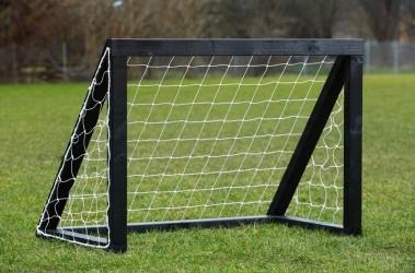 Homegoal Pro Micro Fodboldmål - Sort 125 x 100 cm