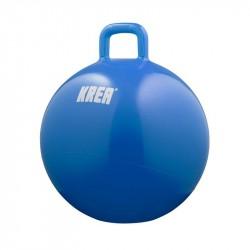 Hoppebold, blå