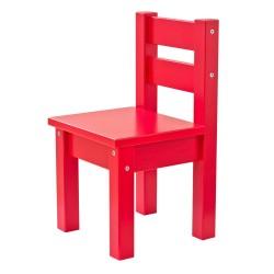 Hoppekids børnestol - Mads - Rød