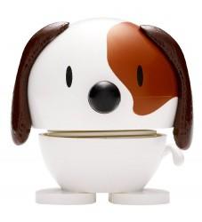 Hoptimist Baby Dog - 7 cm - Hvid/Brun