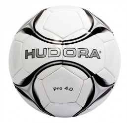 Hudora Fodbold i Læder - Size 5