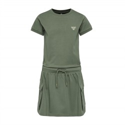 Hummel Arlinda kjole - Army